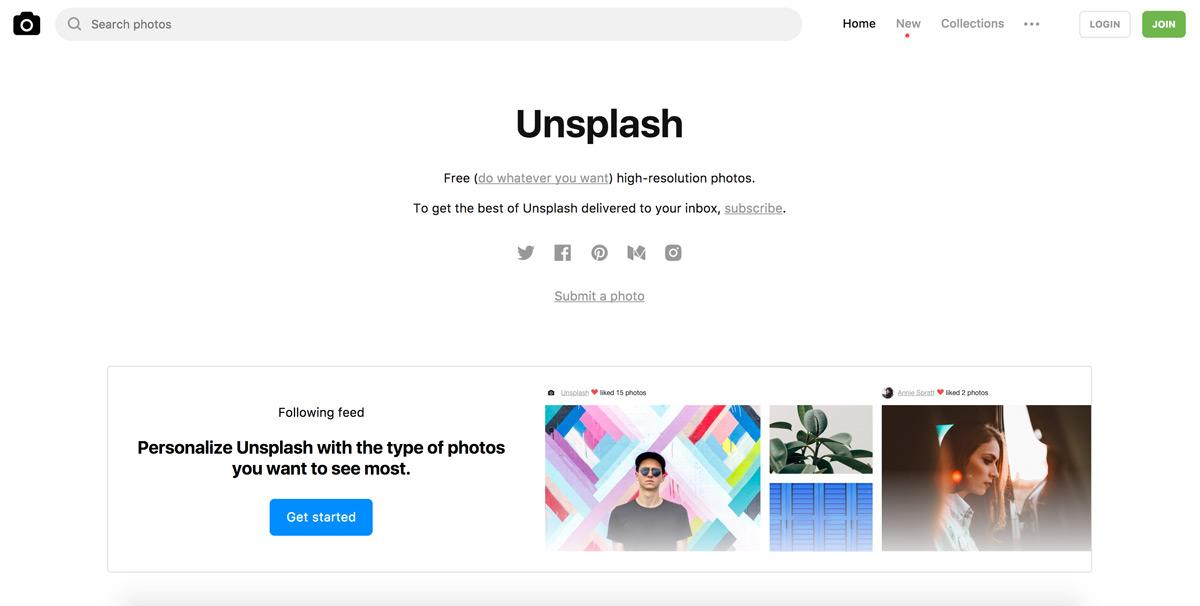Unsplash lizenzfreie und kostenlose Bilder